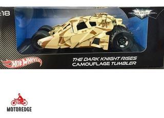 Dark Knight Rises Camuflage Tumbler Hotwheels 1/18 Batimovil