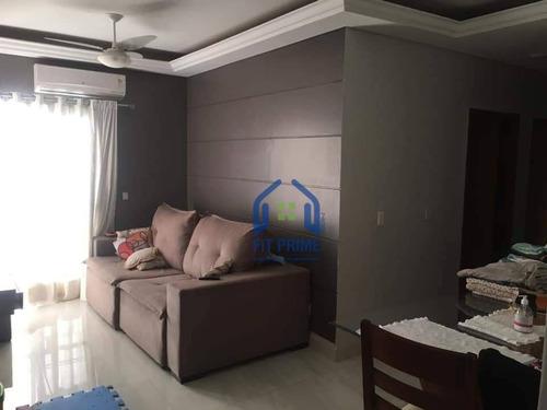 Apartamento Com 3 Dormitórios À Venda, 74 M² Por R$ 350.000 - Nova Redentora - São José Do Rio Preto/sp - Ap1377