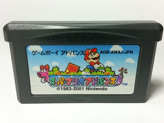 Super Mario Advance Gba Nintendo Gameboy Advance