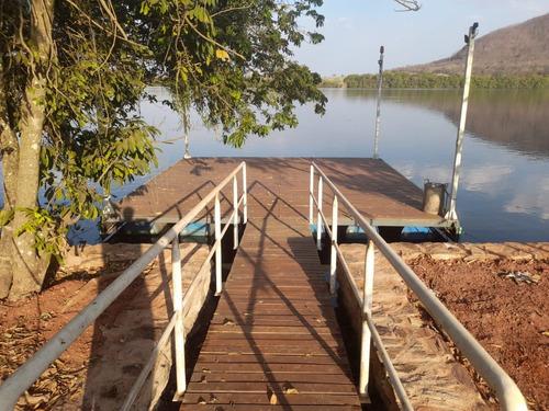 Imagem 1 de 7 de Terreno Beira Rio Grande Vale Do Cipo, Pier Rampa De Barco