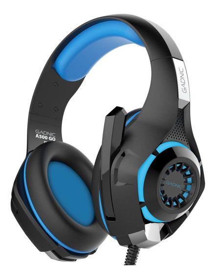Auriculares Gamer Pro Luces Led Microfono Adaptador 3.5mm