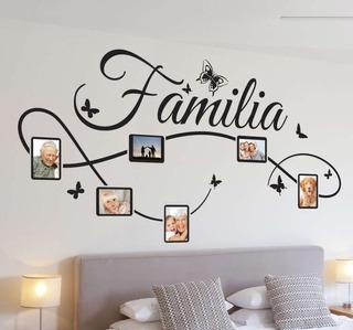 Vinil Decorativo Para Pared Familia Marcos 60x119cm