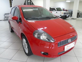 Fiat Punto 1.4 Attractive Italia 8v Manual 2012 Vermelha