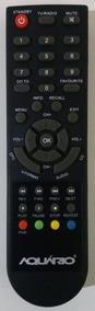 Controle Remoto P/conversor Digital Aquário Dtv 8000 Origina