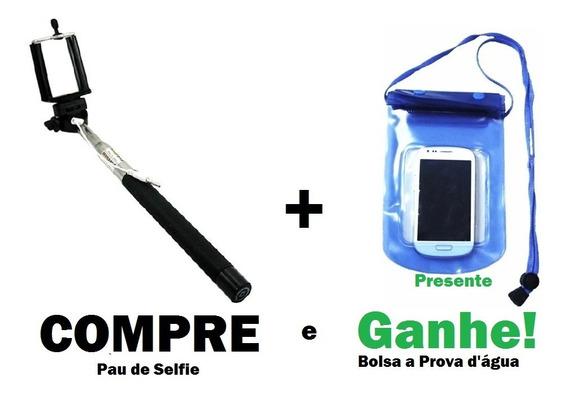 Pau Bastão Selfie Monopod Ent P2 Universal Celular