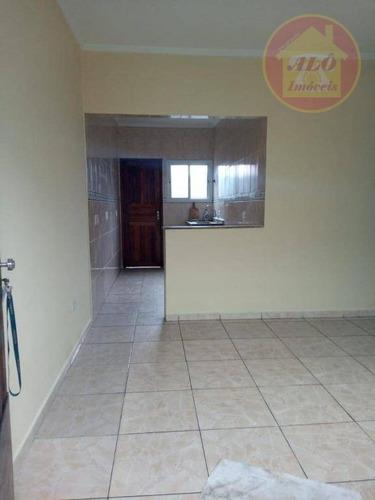 Casa Com 1 Dormitório À Venda, 49 M² Por R$ 130.000,00 - Maracanã - Praia Grande/sp - Ca1336
