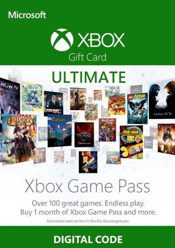 Imagem 1 de 1 de Xbox Game Pass Ultimate 1 Mês Código Digital Brasil