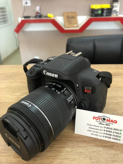 Câmera Fotográfica Canon T6i Kit 18-55mm
