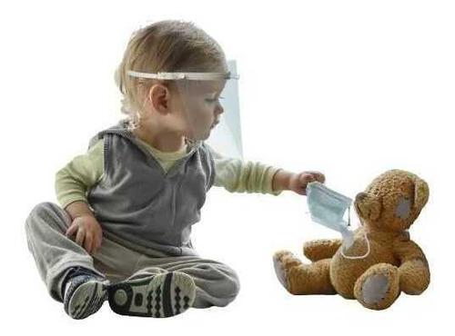 Imagem 1 de 12 de Kit 3 Máscara Protetora Recém Nascido Bebe Creche - Mbcb01