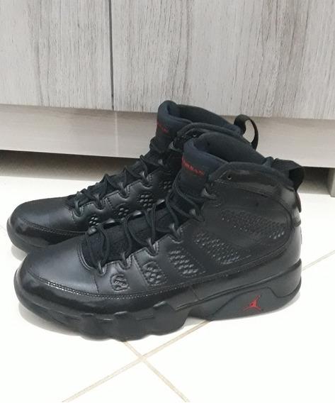 Nike Air Jordan 9 Retro Bred Patent Original E P/ Entrega