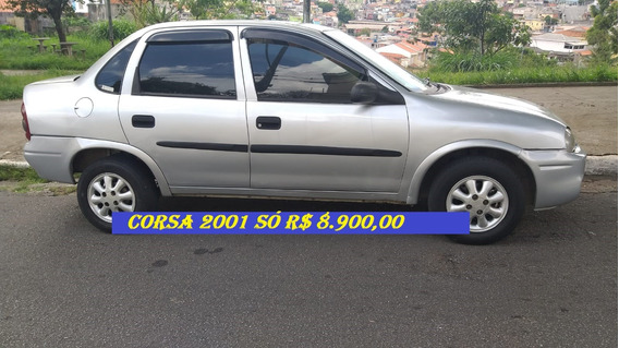 Corsa Sedan 2001 So 8900 Financiamento Com Score Baixo