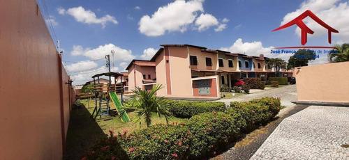 Casa Com 3 Dormitórios À Venda, 91 M² Por R$ 350.000,00 - Maraponga - Fortaleza/ce - Ca0101