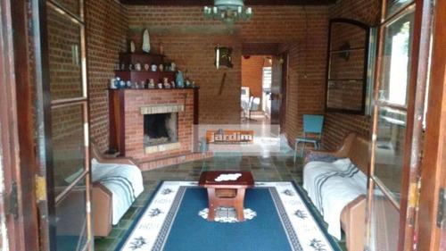 Chácara Com 3 Dormitórios À Venda, 7274 M²  - Jardim Das Garças - Santo André/sp - Ch0091