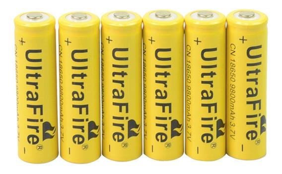 Baterias Ultrafire Modelo 18650 3.7vol Recargable 9800 Mah