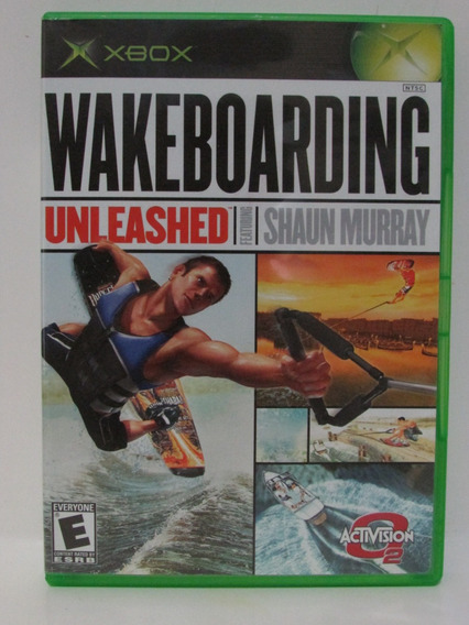 Wakeboarding Unleashed Game Xbox Clássico Completo Original