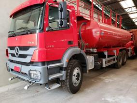 Mercedes-bens 3131 6x4 Ano 2014 Pipa Gascom Completo