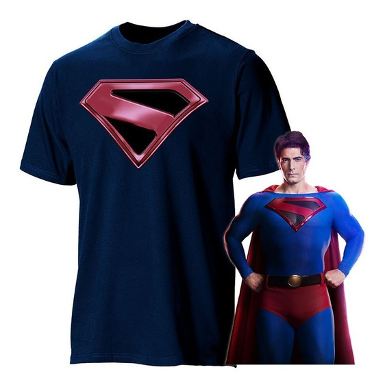 Playera Superman Crisis En Tierras Infinitas Flash Smallvill