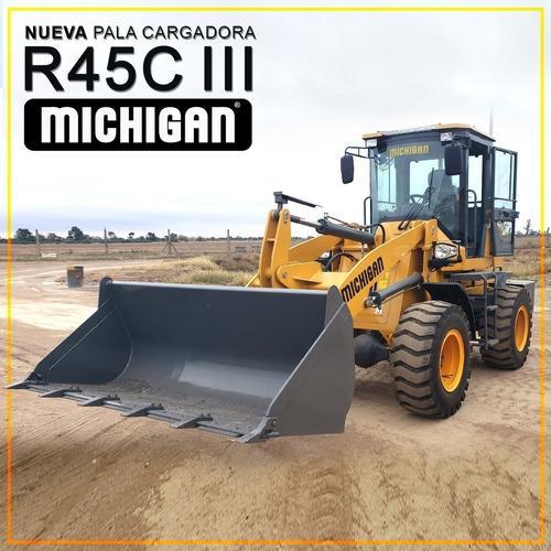 Imagen 1 de 14 de Michigan R45-iii 1mts3 1600 Kg 8 Marchas