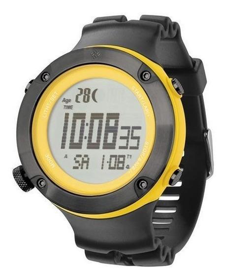 Relógio De Pulso Columbia Tidewater - Preto/amarelo