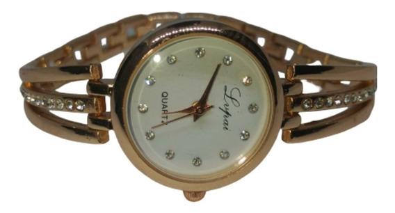 Relógio Feminino De Pulso Barato Luxo Pedras Frete Gratis