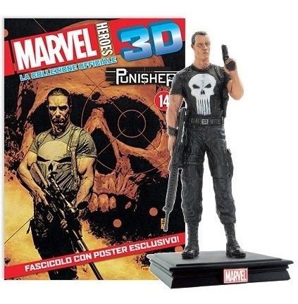 Figura Marvel Heroes 3d # 27 2017 Punisher - Autores Varios