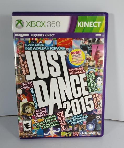 Jogo Para Kinect Just Dance 2015 Xbox 360 Original