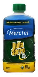 Quita Sarro Max Gel Merclin 250ml Baño Cocina