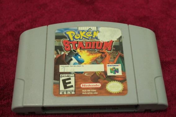 Pokemon Stadium Original Para Nintendo 64 Americano N64 Usa