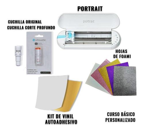 Imagen 1 de 1 de Portrait3+ Cuchilla Original Y Corte Profundo+ Kit De Vinil