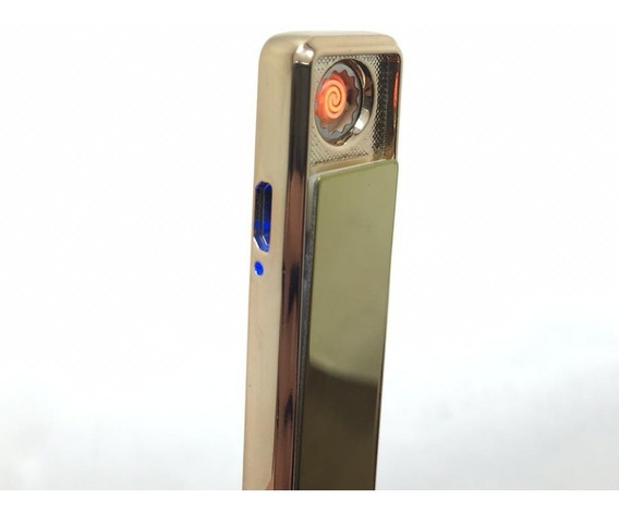 Isqueiro Eletrico Eletronico Usb 3 Cores - Frete Gratis