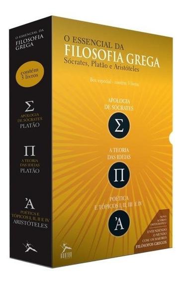 Box - O Essencial Da Filosofia Grega - 3 Volumes