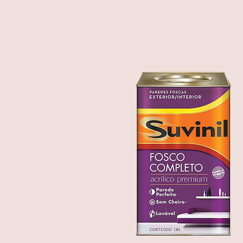Tinta Acrilica Fosca Premium Suvinil Sete Pecados 18lts.