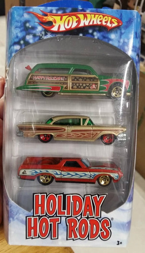 Hot Wheels Holiday Hot Rods Navidad Ford Woodie B
