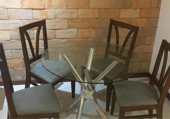 Conjunto De Mesa E Cadeiras (apenas Para Salvador Ou Região)