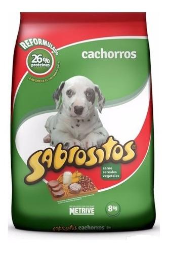 Imagen 1 de 1 de Sabrositos Cachorros 8+1kg