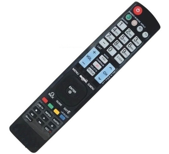 Controle Remoto Tv LG 3d 42lw4500 47lw4500 Akb7415502 7954