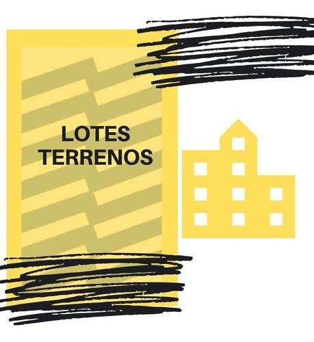 Terreno - Villa Del Parque -terrada Al 2500 *doble Frente*, Para 4500m2 Vendibles