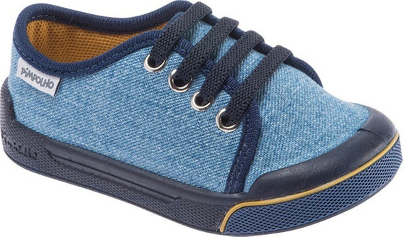 Tênis Infantil Menino Masculino Pimpolho Azul 22