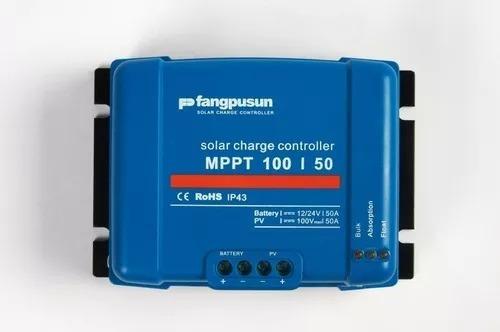 Controlador Solar 50a Mppt 12v 24v Fangpusun Poderoso