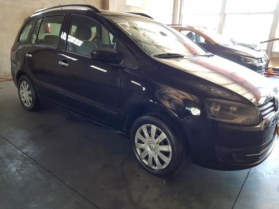 Volkswagen Suran 2011 Gnc Comfortline Negro
