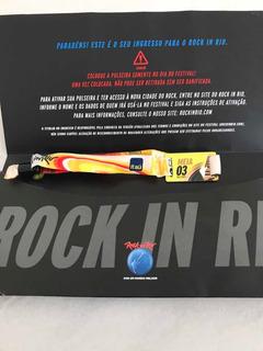 Ingresso Rock In Rio 2019 - Red Hot - Meia-entrada