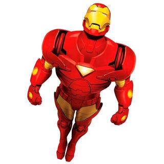Ironman Comic En Vuelo - Sticker Adhesivo Gigante