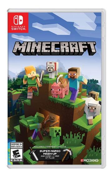 Juego Minecraft Nsw Nuevo Original