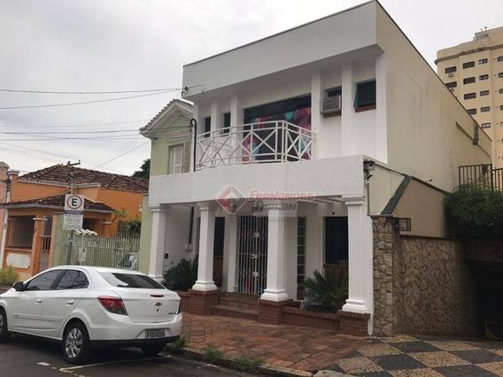 Sobrado Comercial À Venda, 207 M² Por R$ 1.099.000 - Centro - Piracicaba/sp - So0005