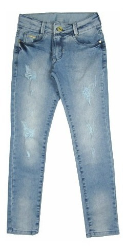 Calça Jeans Infantil Feminina Crawling