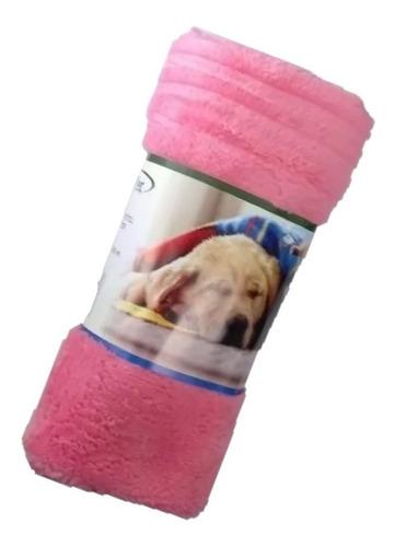 Manta Cobertor Soft Para Pet Cachorro E Gato Rosa