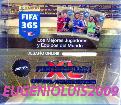 Cartas Adrenalyn Fifa 365 (2015) Sueltas 50 Sin Repetir