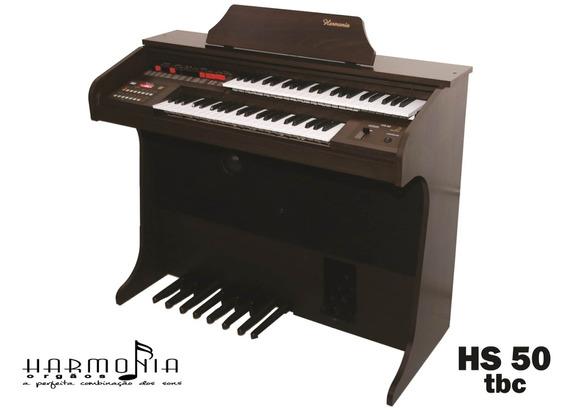 Órgão Eletrônico Harmonia Marrom Fosco