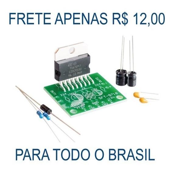 Modulo Kit Amplificador Tda7297 30 Watts 12 V Diy