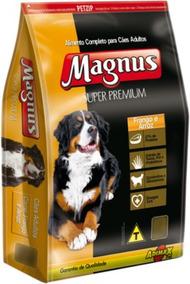 Ração Magnus Adulto Super Premium Frango E Arroz 15 Kg